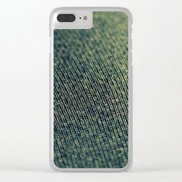 Demin Clear iPhone Case