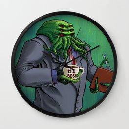 Boss Monster Wall Clock