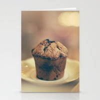 cupcake Stationery Cards featuring Cupcake  by Caroline Mint
