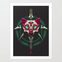 THE SPHYNX Art Print