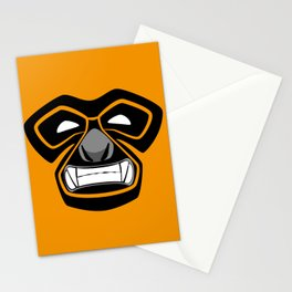 Gibbon Wrestler Stationery Cards