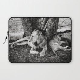 African Safari Lion Laptop Sleeve