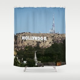 Cliche Hollywood Photo Shower Curtain