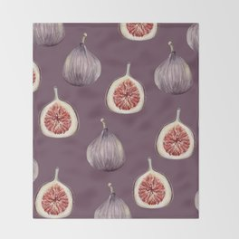 Figs 2  #society6 #buyart Throw Blanket