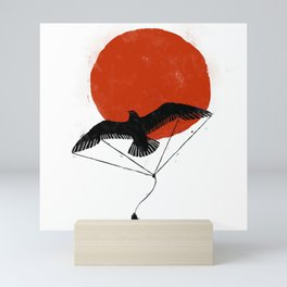 Bird Kite Mini Art Print
