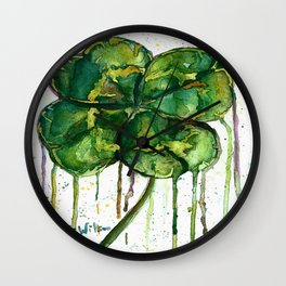 Run O' Luck Wall Clock
