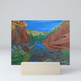 Fall in Sedona Mini Art Print