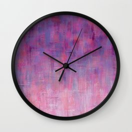 Warm Rain Wall Clock