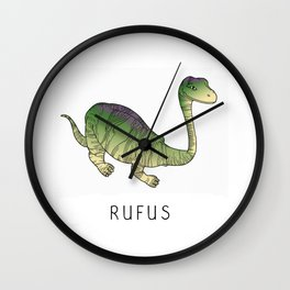 Rufus the dinosaur Wall Clock