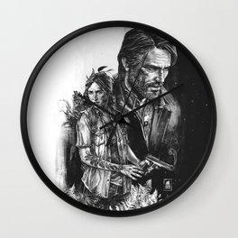 The Last Of Us Part II - Ellie and Joel Wall Clock