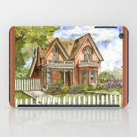 victorian iPad Cases featuring Victorian Beauty by Shelley Ylst Art