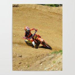 Turning Point Motocross Champion Race Poster