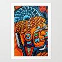 Aztec Warrior by miyotl