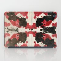 rorschach iPad Cases featuring Rorschach by ICutThings