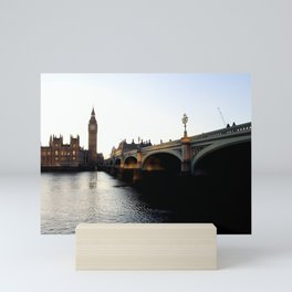 London on the Water Mini Art Print