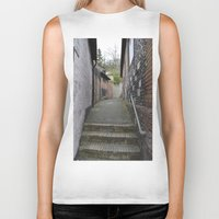 winchester Biker Tanks featuring Winchester Alley by Ashley Callan