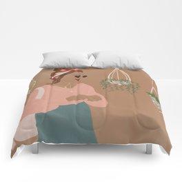 Plant Mama Comforters