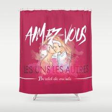 Aimez-vous Shower Curtain
