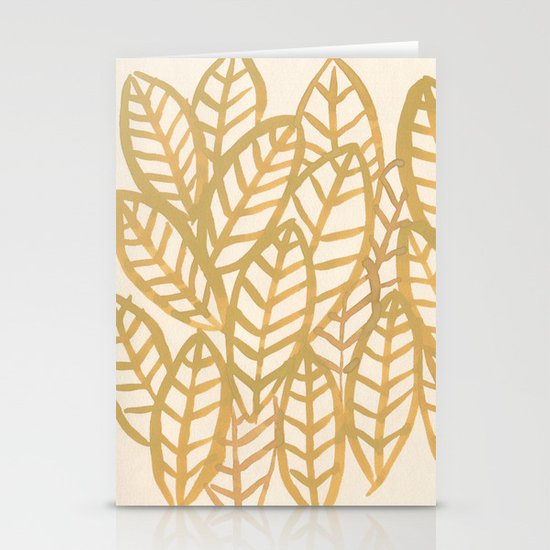 Fronds Stationery Cards