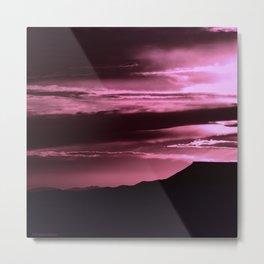 SW Rose Mesa Sunset Metal Print
