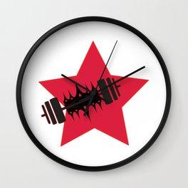 Star Lift Wall Clock
