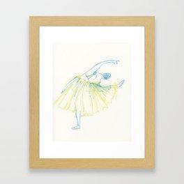 A Ballerina Framed Art Print