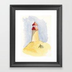 Lighthouse Impressions II Framed Art Print