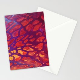 Magenta Gold Stationery Cards