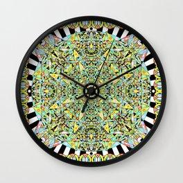 Hyperspace Glyph Wall Clock