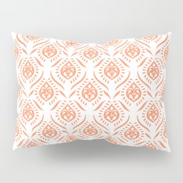 Indigo & Papaya Pattern 14 Pillow Sham