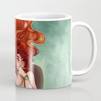 creativity Mugs featuring Creativity by Cyarin