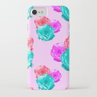 peonies iPhone & iPod Cases featuring Peonies by Aneela Rashid