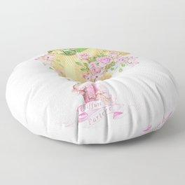 Marie Antoinette Coiffure Parterre Floor Pillow