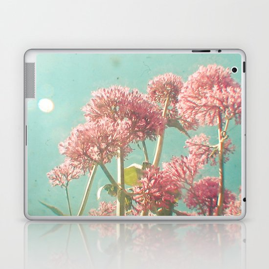 Pink Milkweed Laptop & iPad Skin