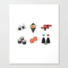 Sushi Day Canvas Print