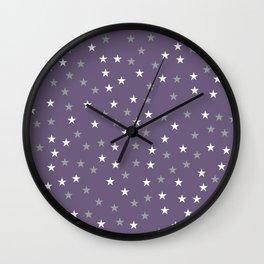 Stars Pattern 2 Wall Clock