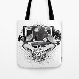Dj Beach Tote Bag