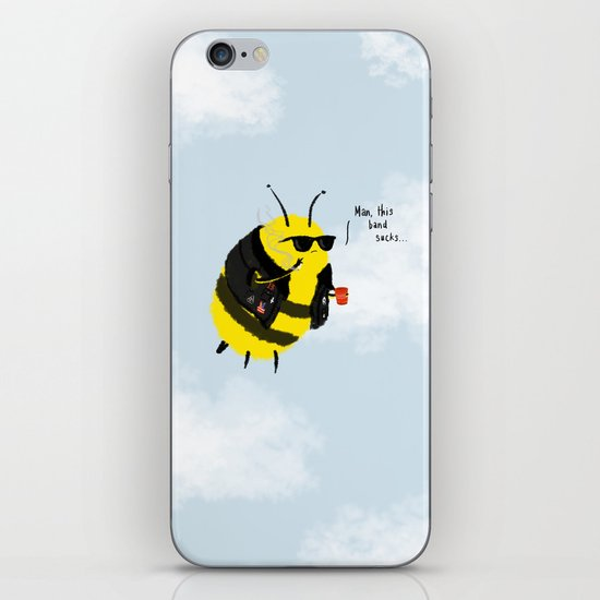 Festival Bees iPhone & iPod Skin