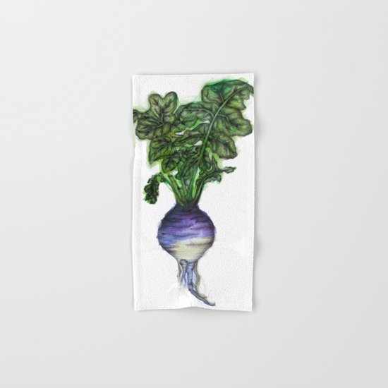 Rooted: The Rutabaga Hand & Bath Towel