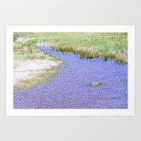 River of Flowers Art Print