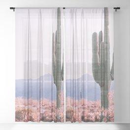 Warm Desert Sheer Curtain
