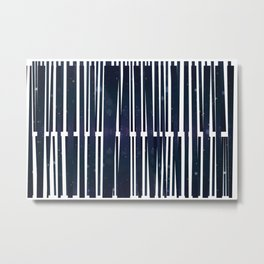 Coded Collage Metal Print