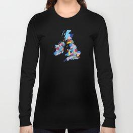 England, Ireland, Scotland & Wales Long Sleeve T-shirt