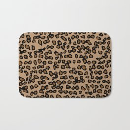 Digital Leopard Bath Mat