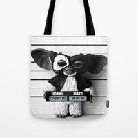 gizmo Tote Bags featuring Gizmo lineup by Christophe Chiozzi