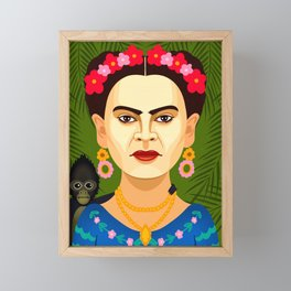 Frida Kahlo Framed Mini Art Print
