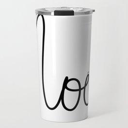 Noel Petit Sourire Travel Mug