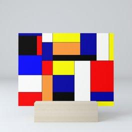 Mondrian #1 Mini Art Print
