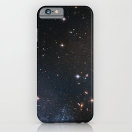 Hubble Space Telescope - Stars in the tail of the Antennae Galaxies (2008) iPhone Case