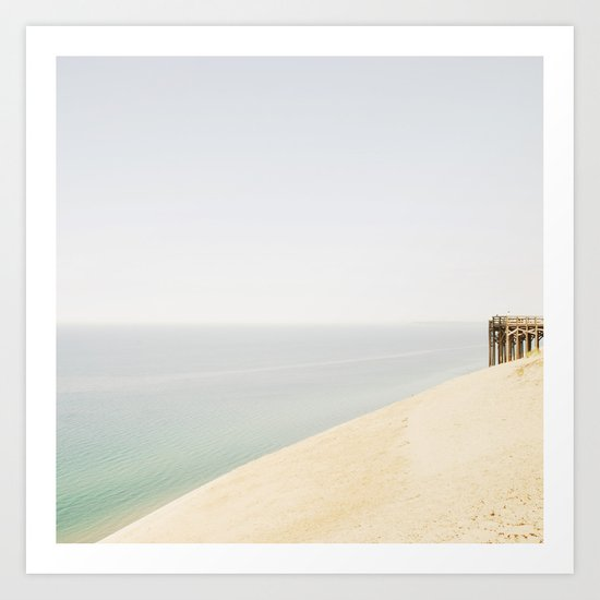 Pier 9 Lake Michigan Dune Art Print